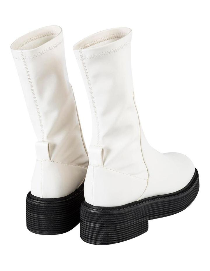 Glacier Cream Venezia Calf Boots image 6