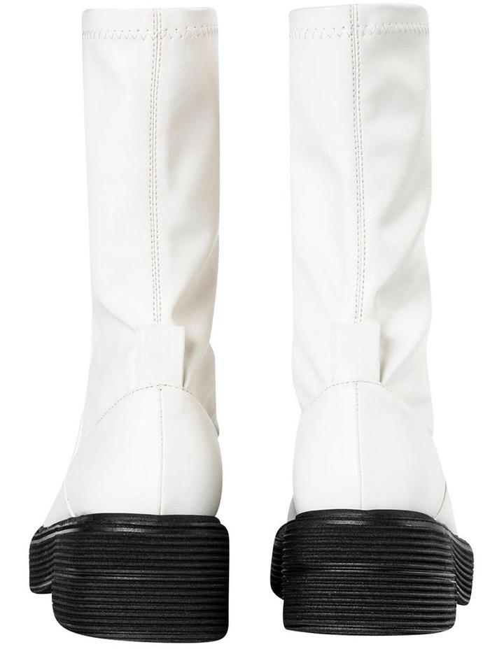 Glacier Cream Venezia Calf Boots image 7