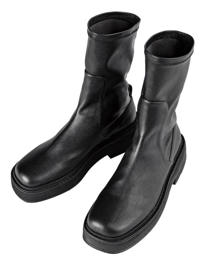 Glacier Black Venezia Calf Boots image 3