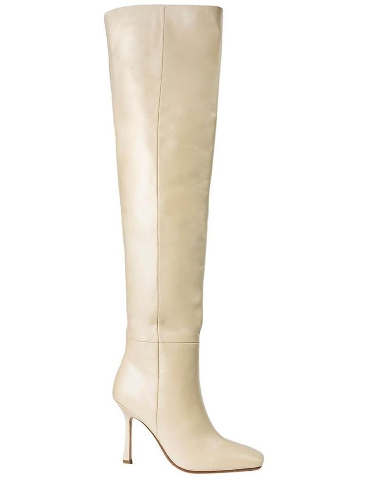 Halo Vanilla Capretto Long Boots image 1