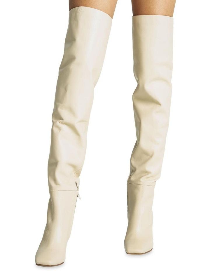 Halo Vanilla Capretto Long Boots image 2