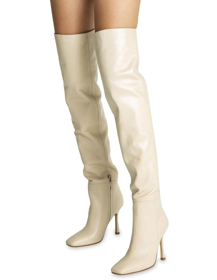Halo Vanilla Capretto Long Boots image 4