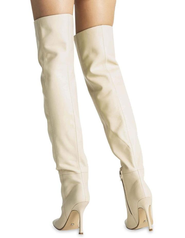 Halo Vanilla Capretto Long Boots image 5