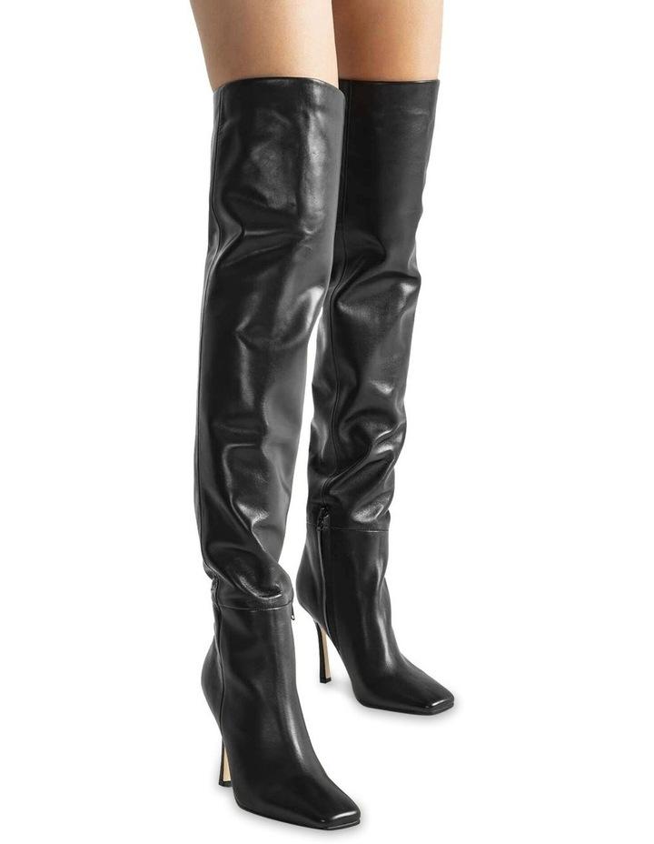 Halo Black Como Long Boots image 3