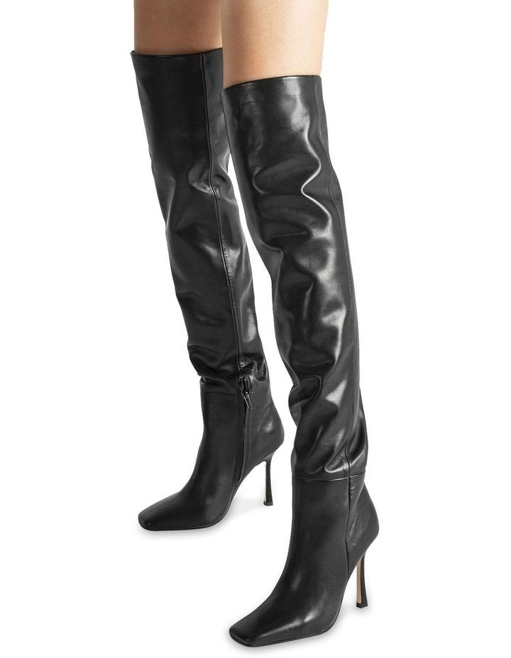 Halo Black Como Long Boots image 4
