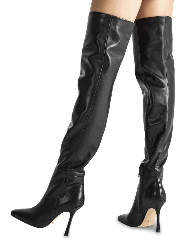 Halo Black Como Long Boots image 5