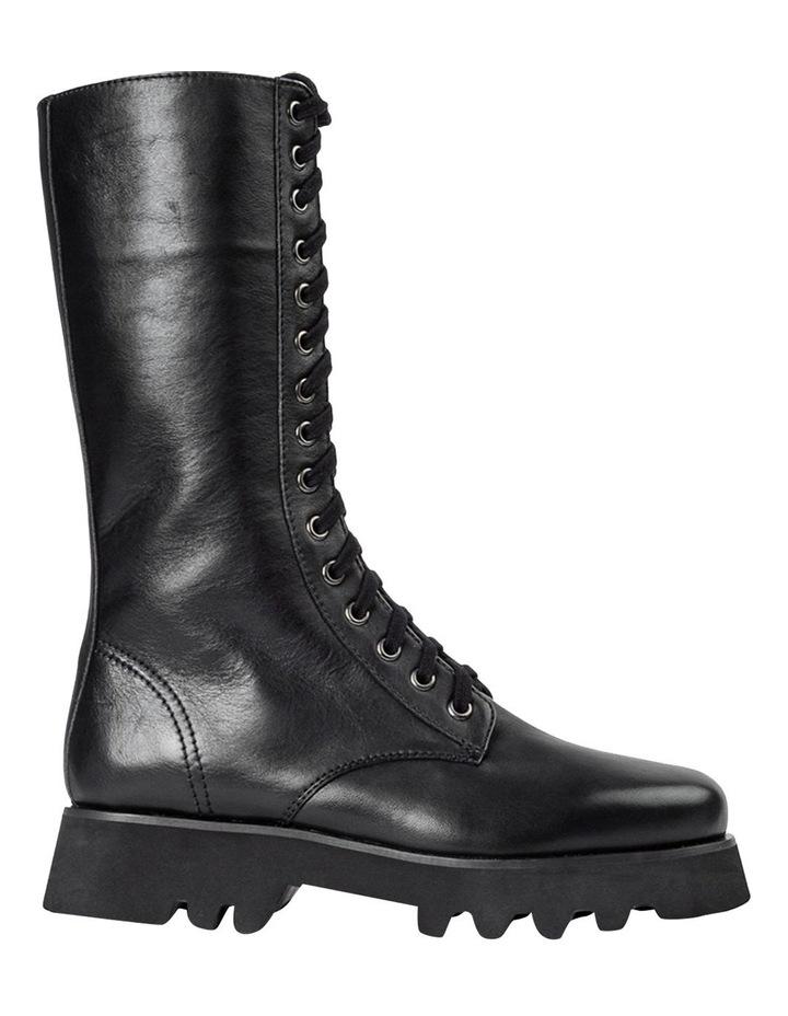 Icon Black Como Calf Boots image 1