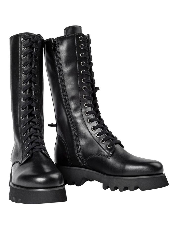 Icon Black Como Calf Boots image 2