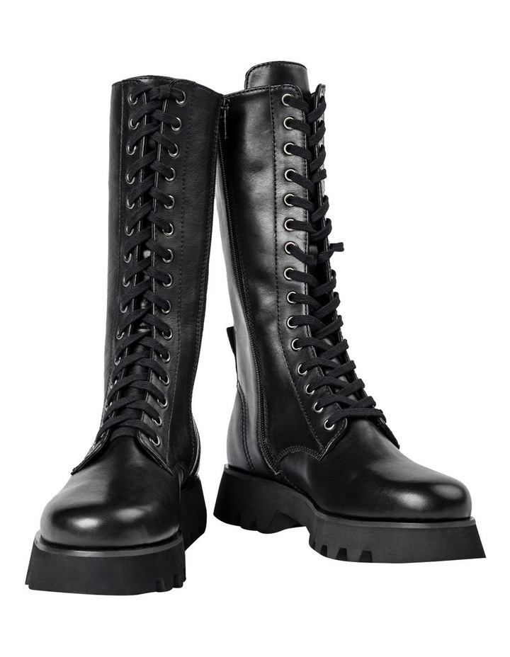 Icon Black Como Calf Boots image 3