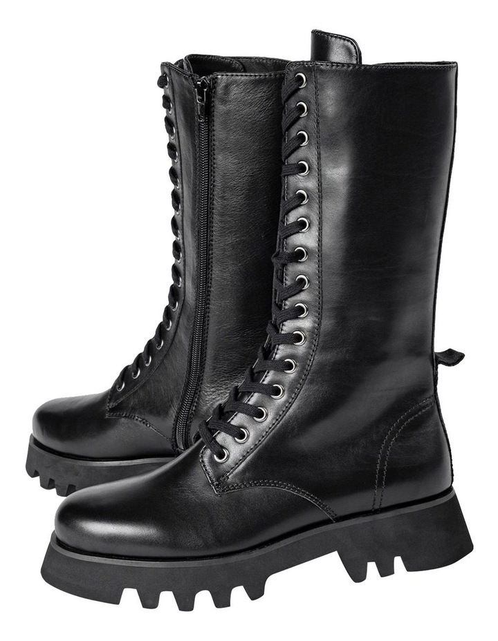 Icon Black Como Calf Boots image 5