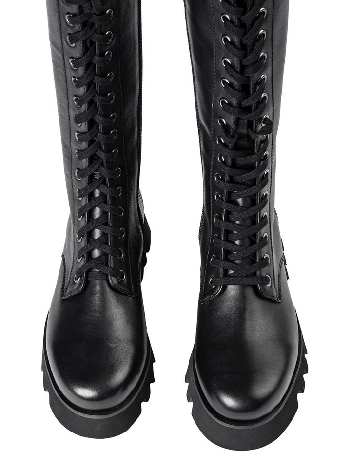 Icon Black Como Calf Boots image 6