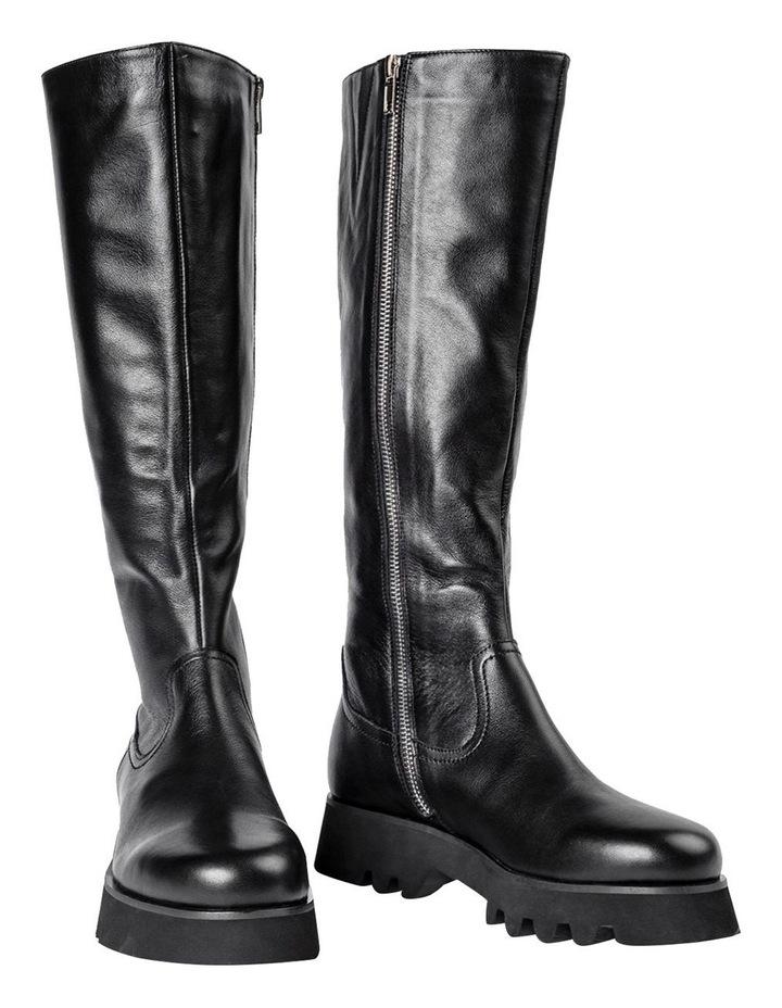 Iva Black Venice Calf Boots image 2