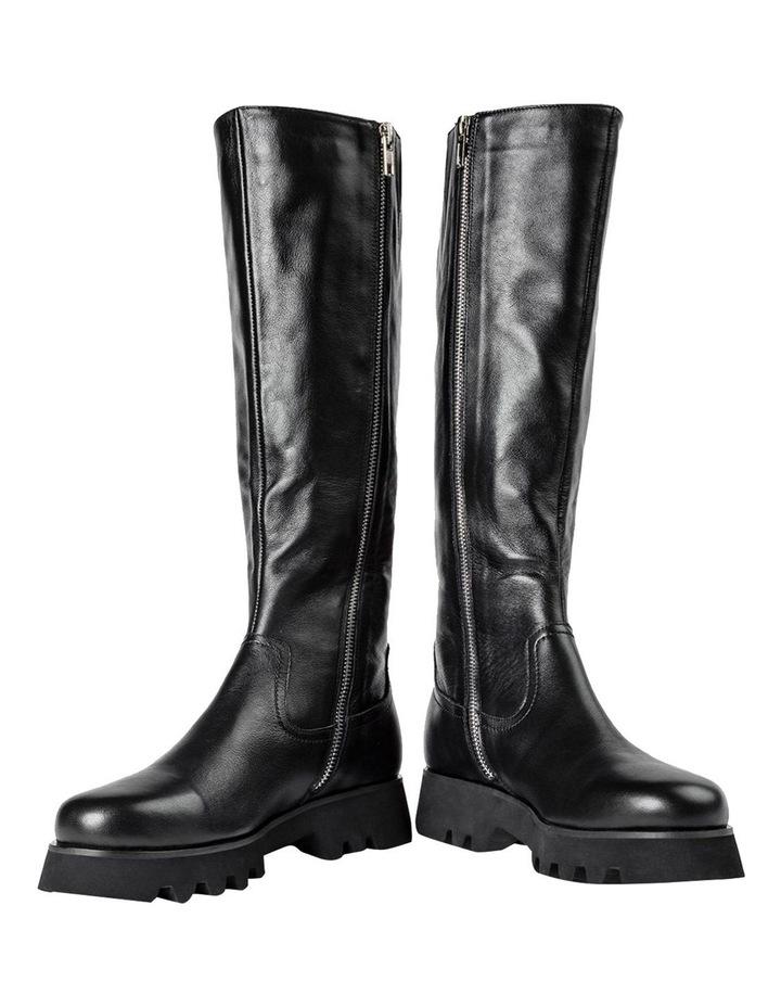 Iva Black Venice Calf Boots image 3