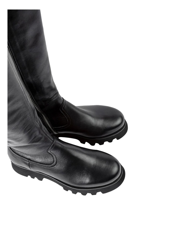 Iva Black Venice Calf Boots image 4