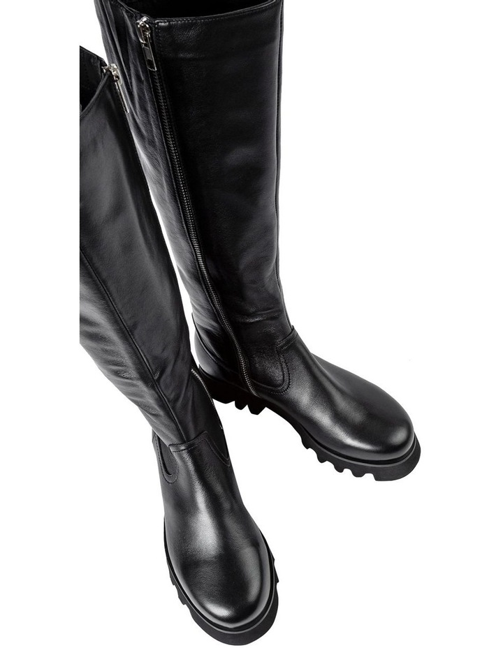 Iva Black Venice Calf Boots image 7