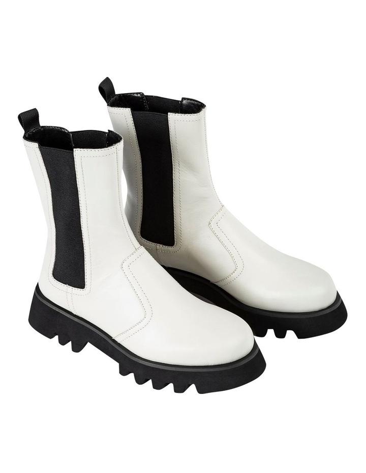 Izzy Dove Capretto Ankle Boots image 1