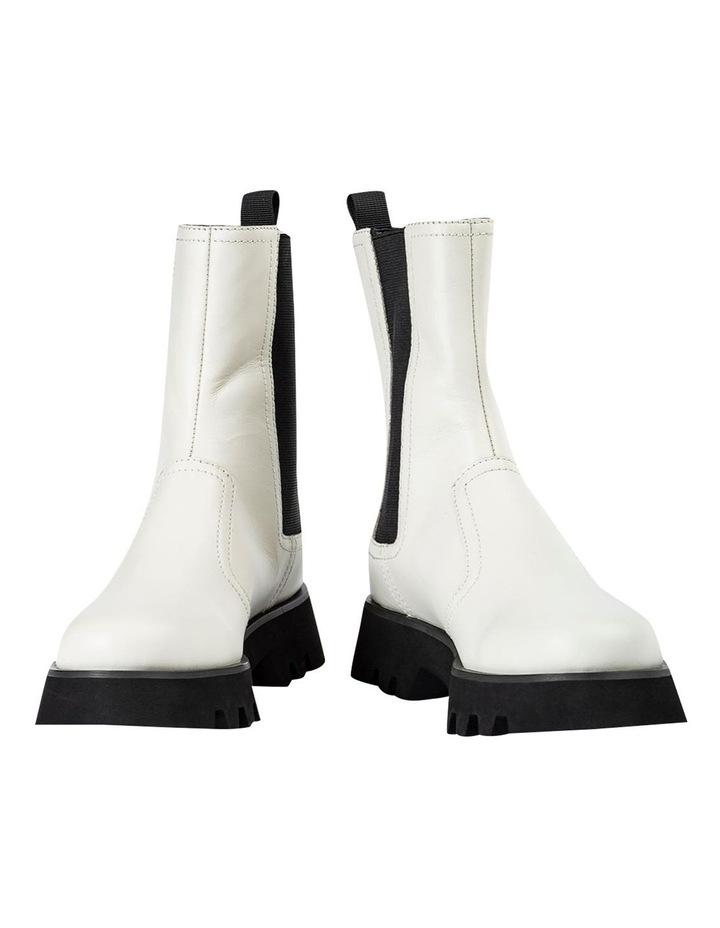 Izzy Dove Capretto Ankle Boots image 2