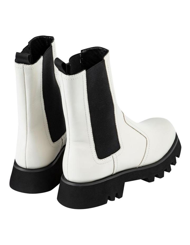 Izzy Dove Capretto Ankle Boots image 3