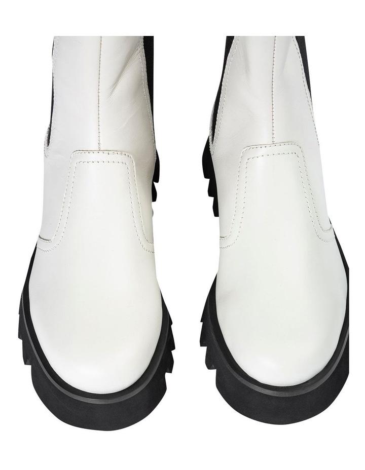 Izzy Dove Capretto Ankle Boots image 4