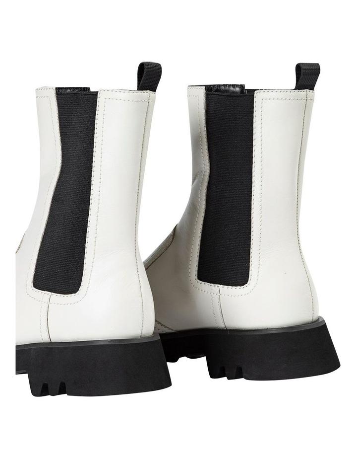 Izzy Dove Capretto Ankle Boots image 5