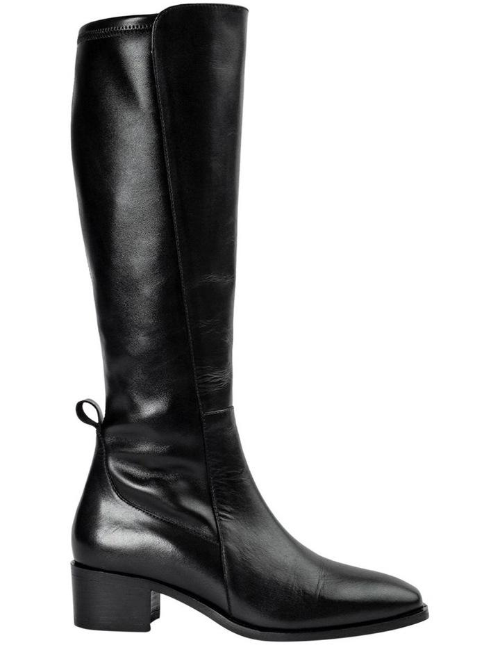 Mozaic Black Como Calf Boots image 1