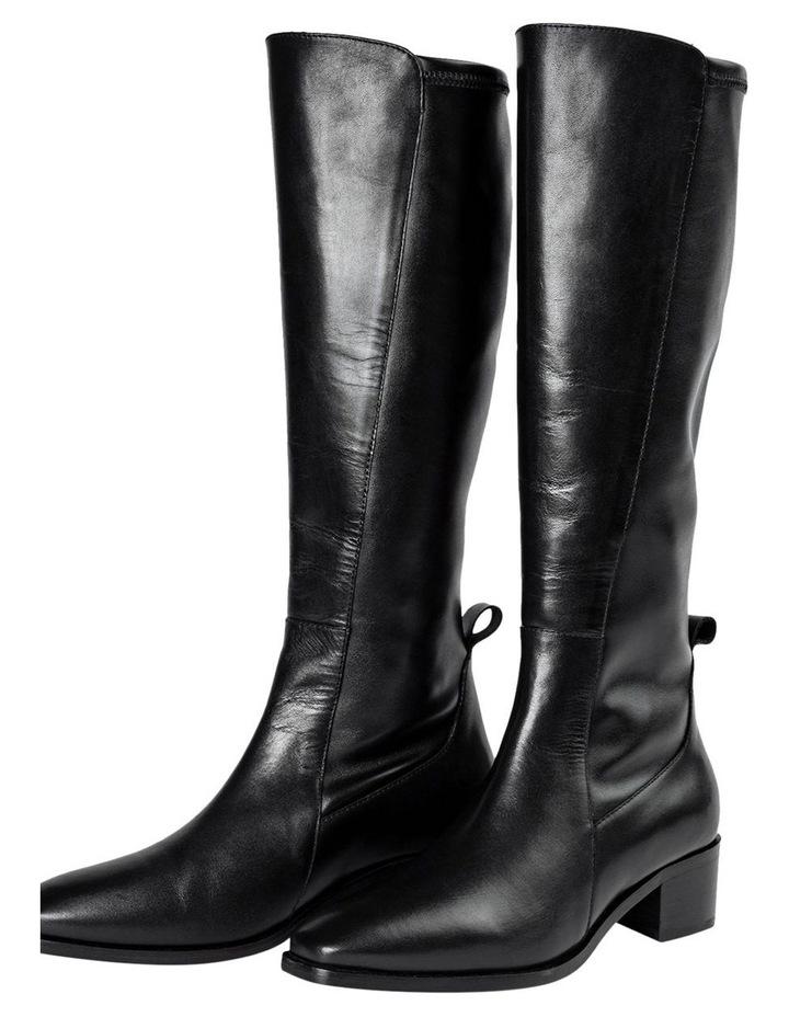 Mozaic Black Como Calf Boots image 2