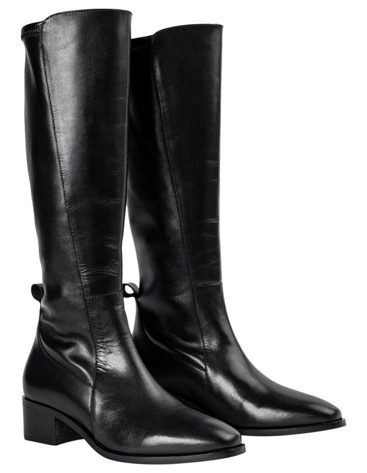 Mozaic Black Como Calf Boots image 3