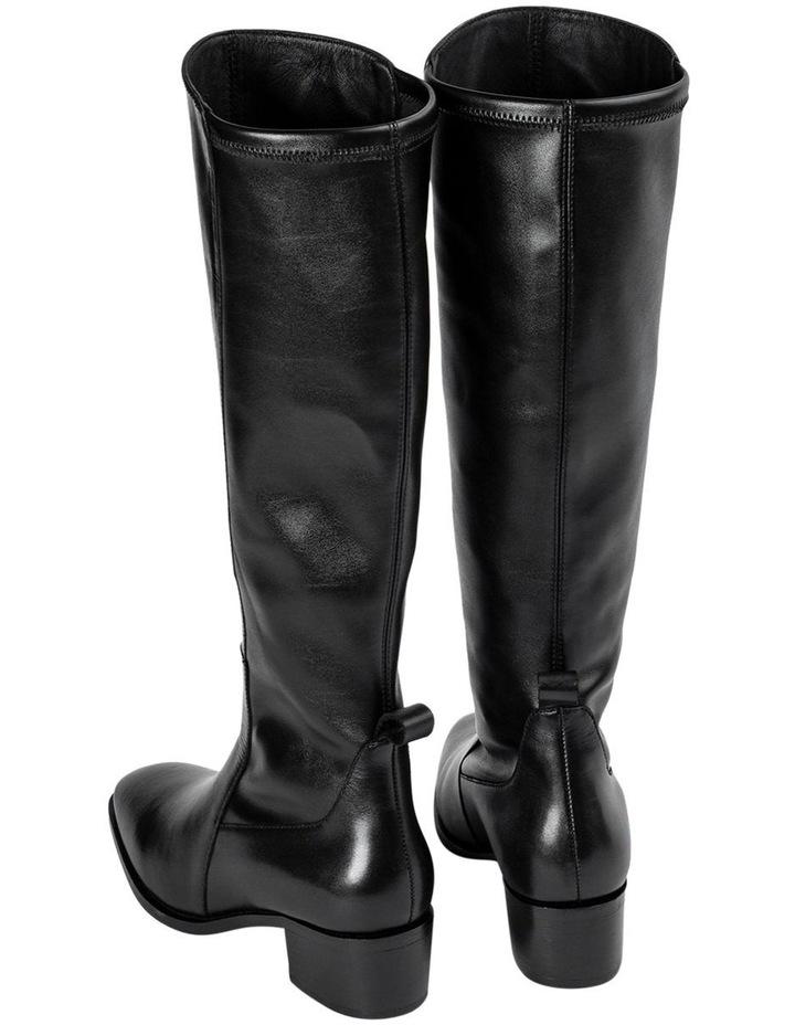 Mozaic Black Como Calf Boots image 4
