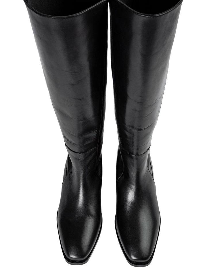 Mozaic Black Como Calf Boots image 5