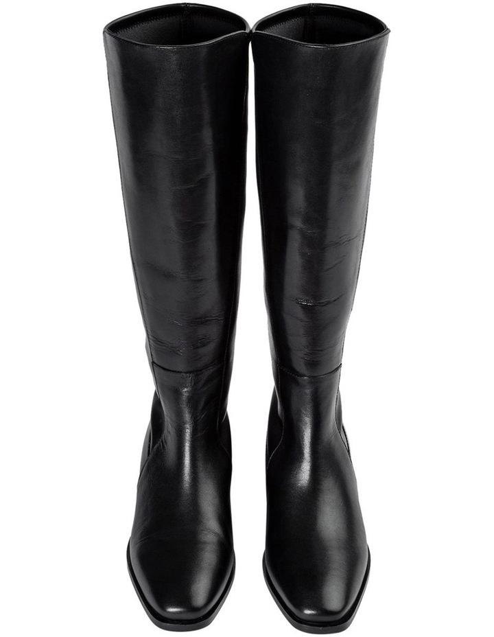 Mozaic Black Como Calf Boots image 6