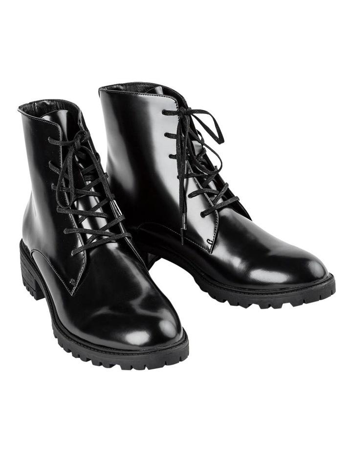 Parma Black Hi Shine Ankle Boot image 2