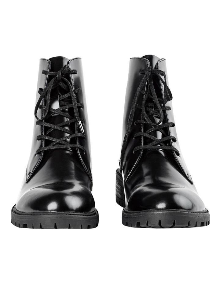 Parma Black Hi Shine Ankle Boot image 3