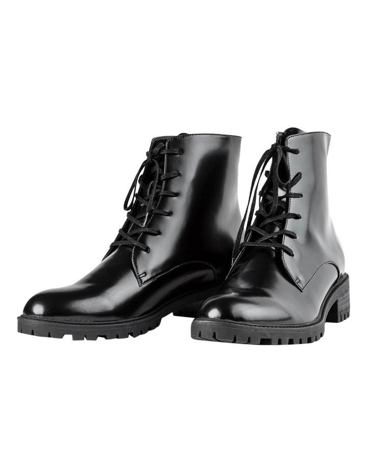 Parma Black Hi Shine Ankle Boot image 4