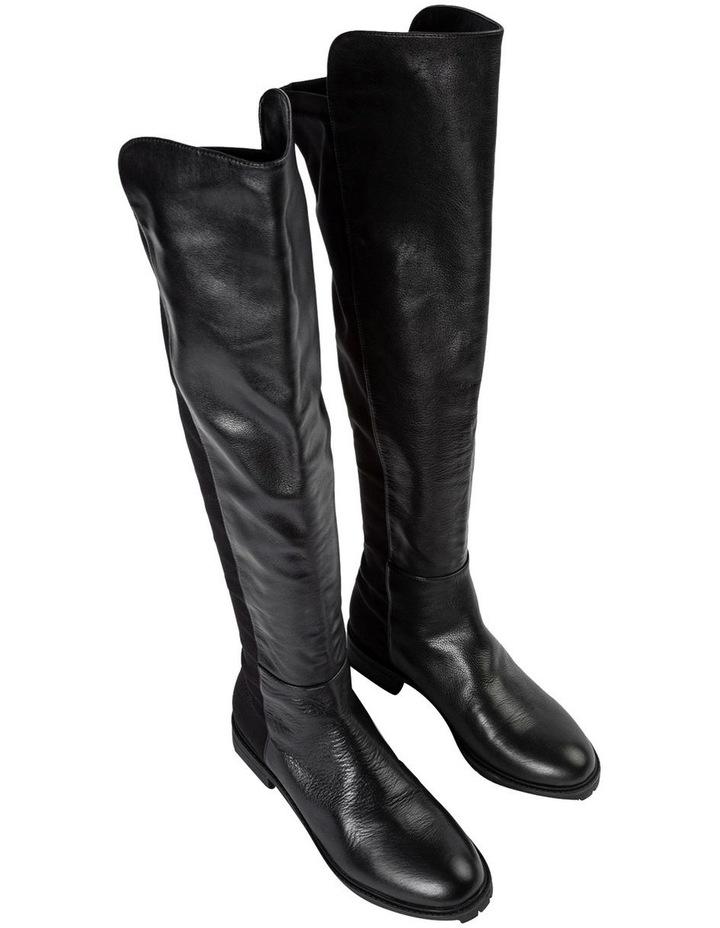 Presto Black Luxe/Blk Micro Stretch Long Boots image 2