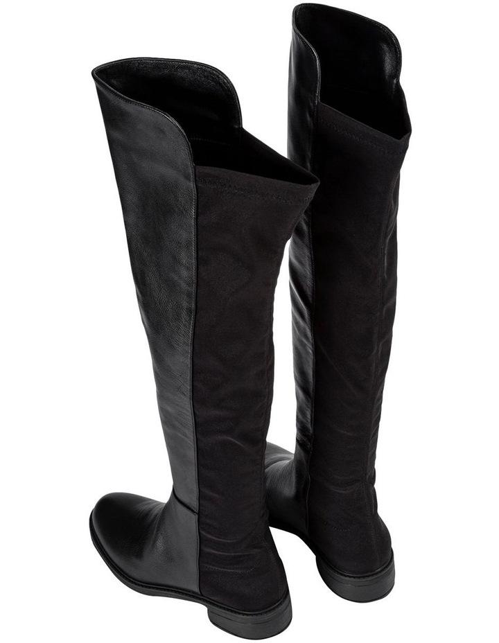 Presto Black Luxe/Blk Micro Stretch Long Boots image 5