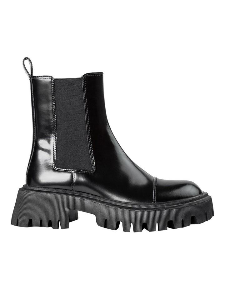 Savant Black Hi Shine Ankle Boots image 1