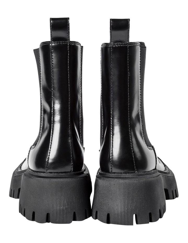 Savant Black Hi Shine Ankle Boots image 6
