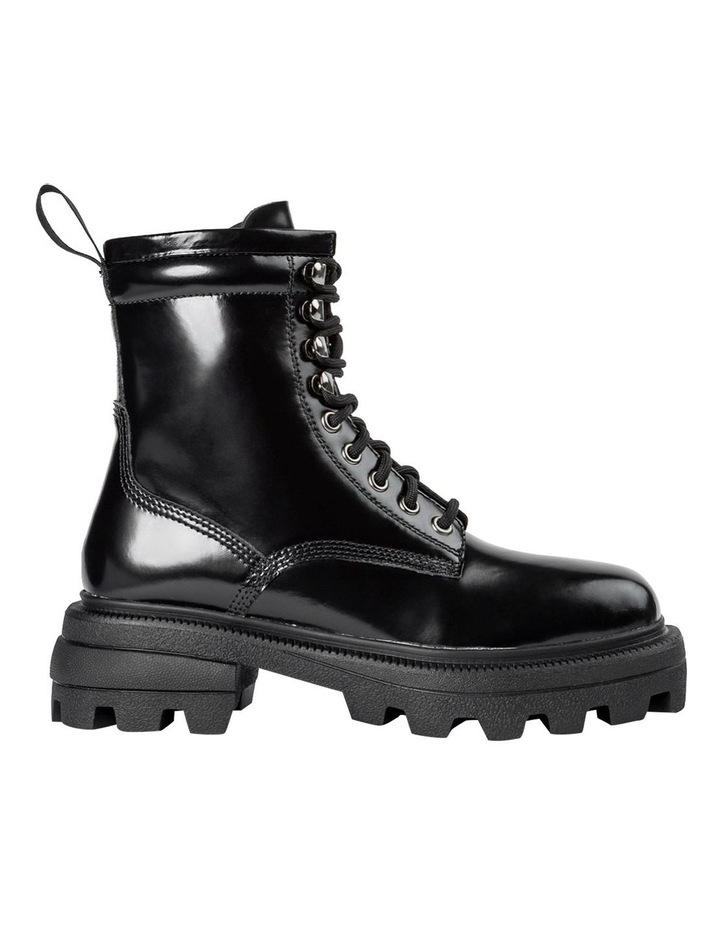 Volcano Black Hi Shine Ankle Boots image 1