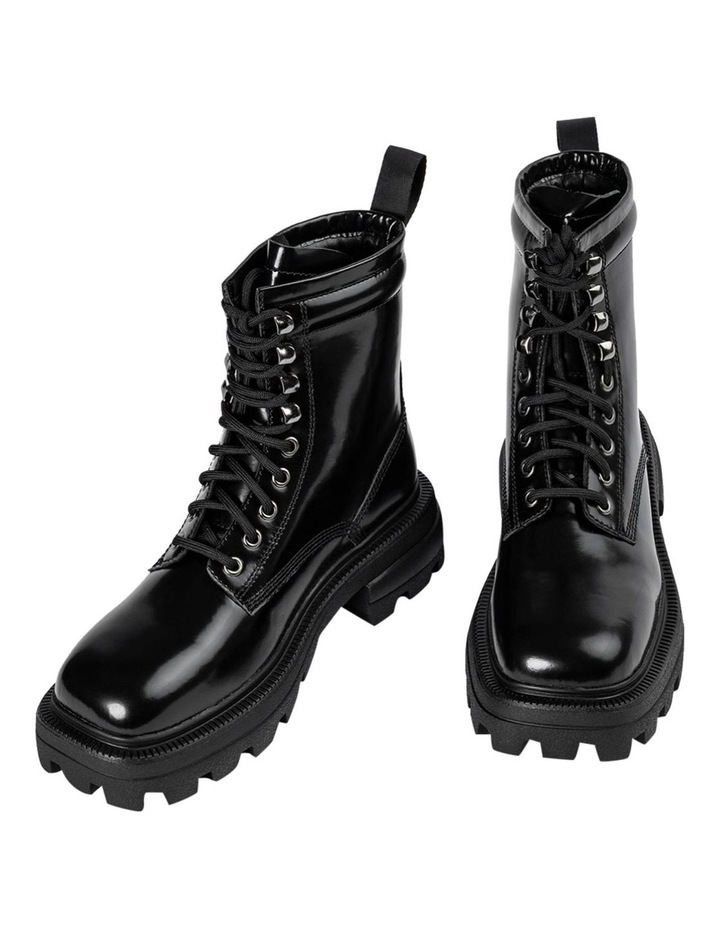 Volcano Black Hi Shine Ankle Boots image 2