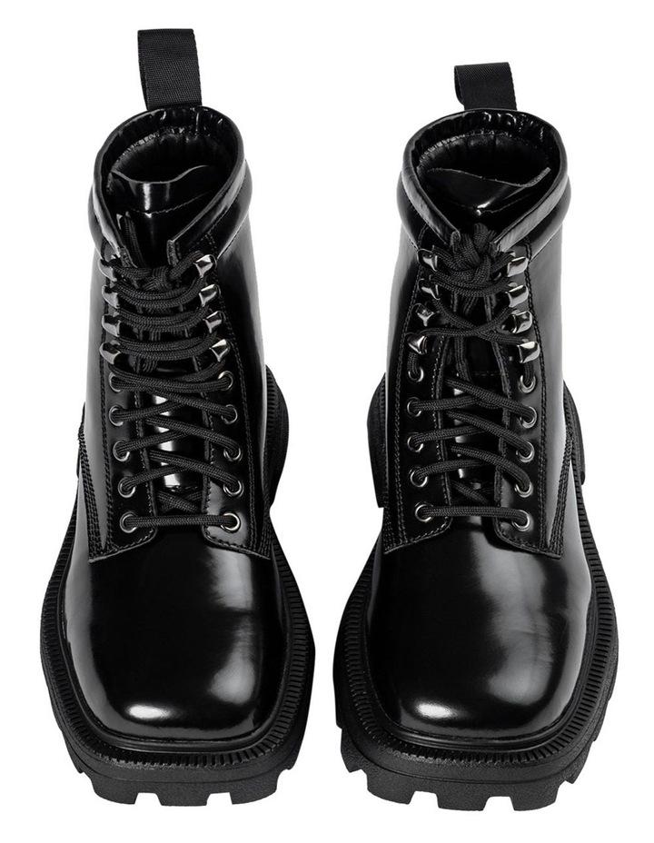 Volcano Black Hi Shine Ankle Boots image 3