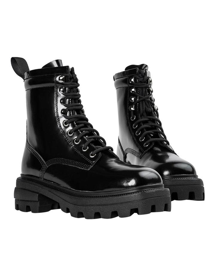 Volcano Black Hi Shine Ankle Boots image 4