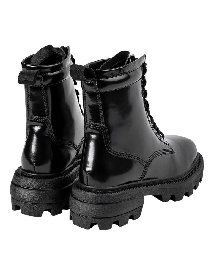 Volcano Black Hi Shine Ankle Boots image 5
