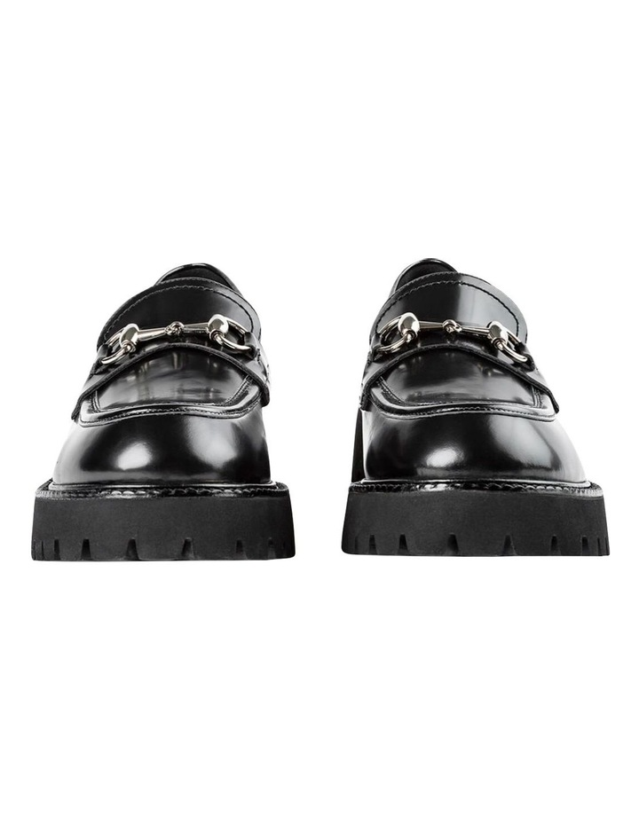 Greer Black Hi Shine Casual Shoes image 2