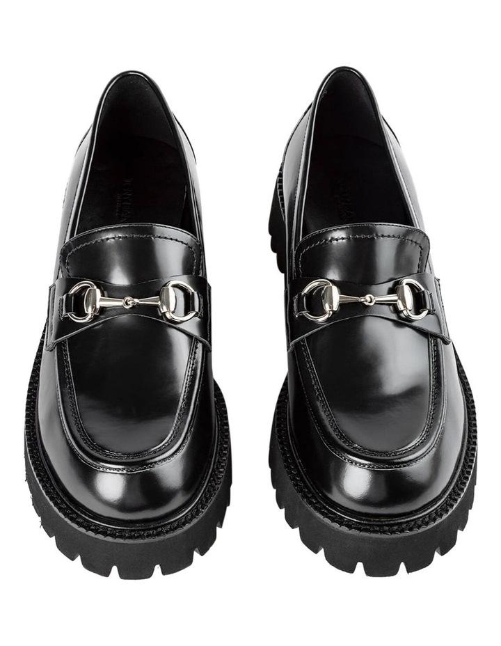 Greer Black Hi Shine Casual Shoes image 3
