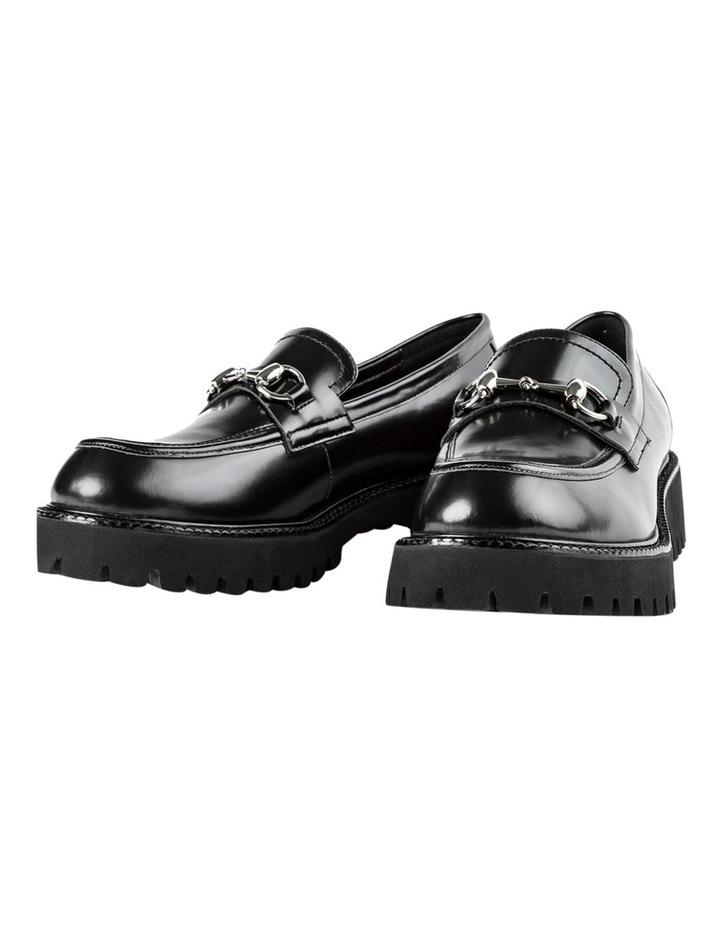 Greer Black Hi Shine Casual Shoes image 4