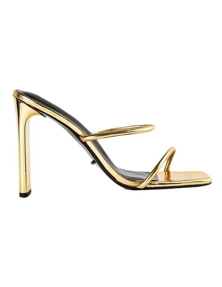 Florence Gold Foil Heels image 1