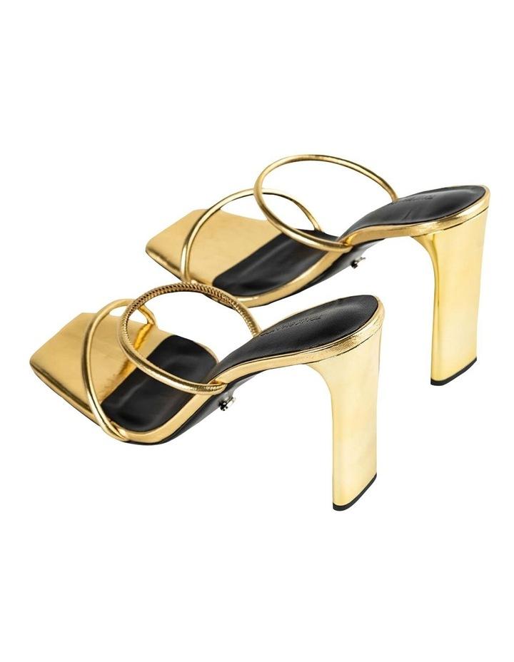 Florence Gold Foil Heels image 3