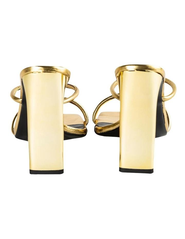 Florence Gold Foil Heels image 4