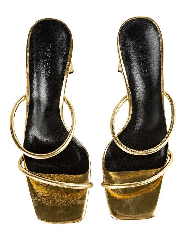 Florence Gold Foil Heels image 5