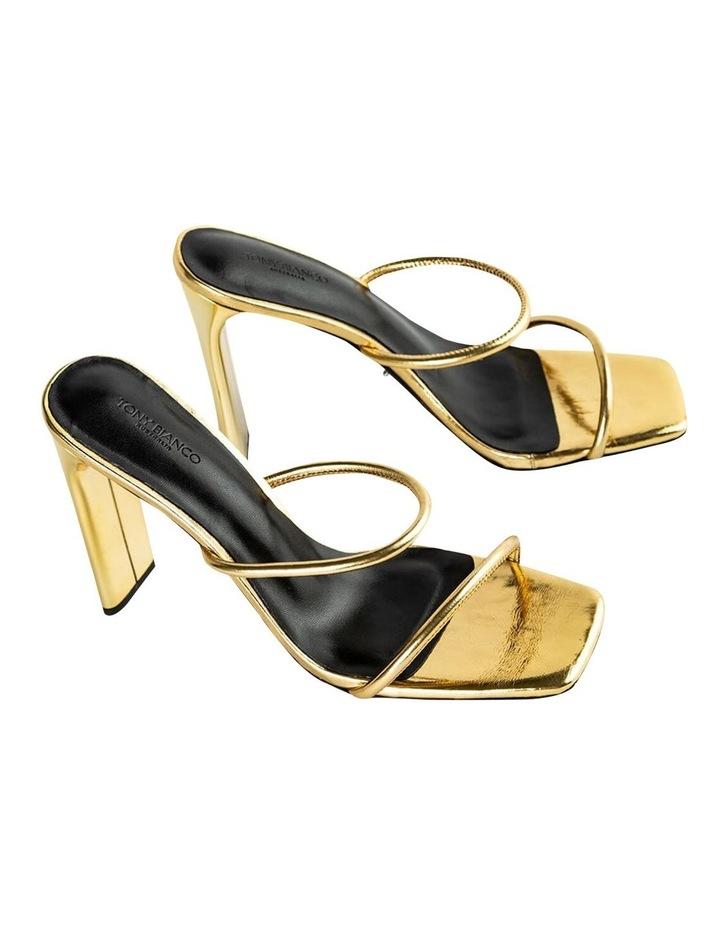 Florence Gold Foil Heels image 7